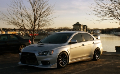 Evo X before sundown