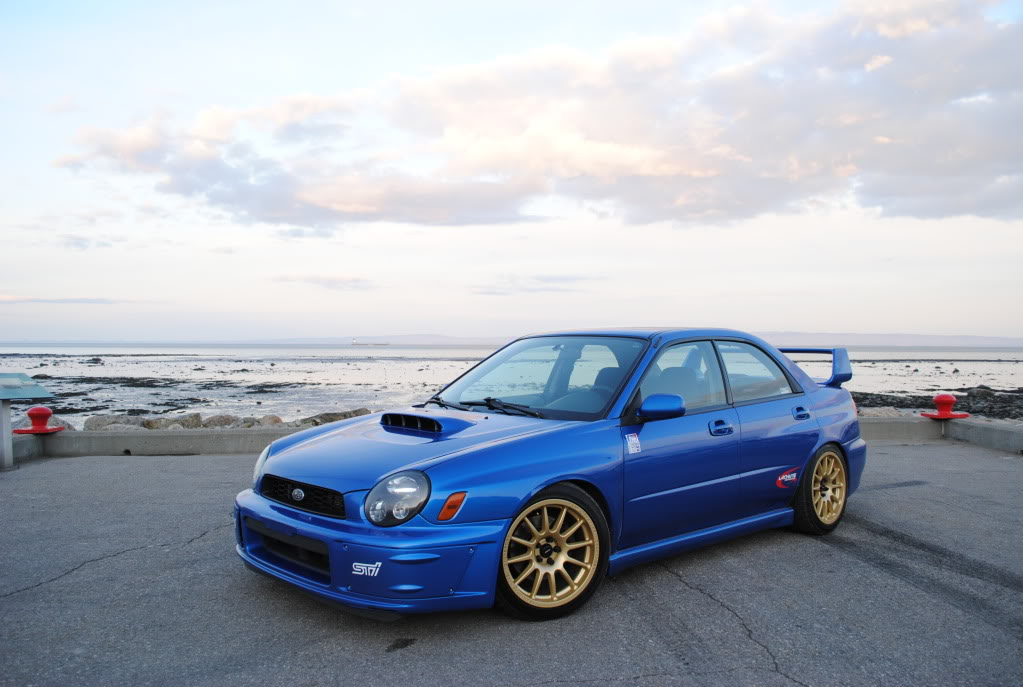 Version 7 STi Prodrive package from the UK