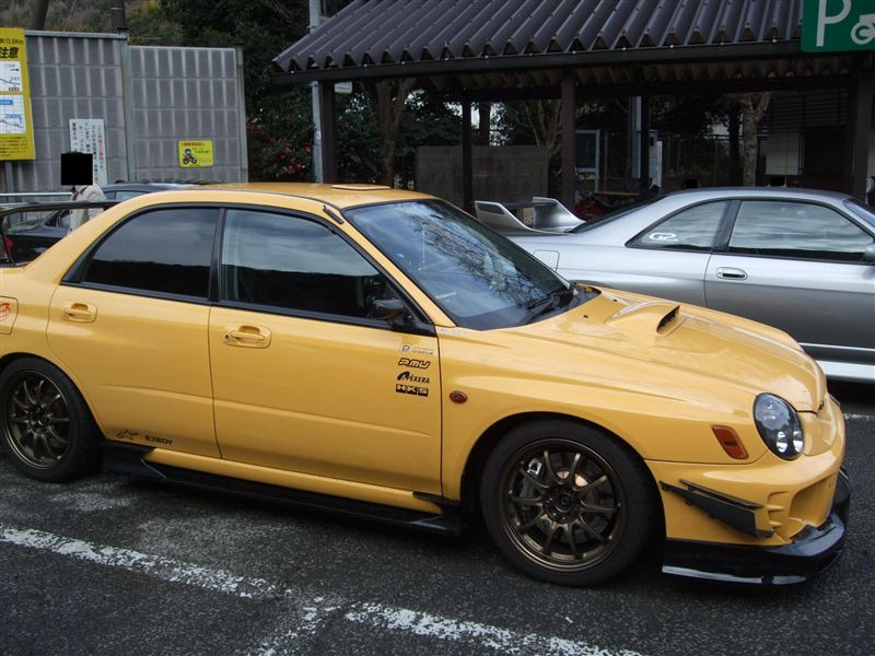 The Version 7 Sti And Its Many Trims Jn Garage