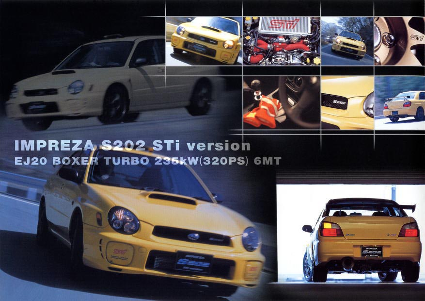 The Version 7 STi and its many Trims – JN Garage